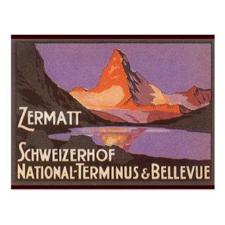 Zermatt Switzerland Postcards