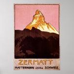 Zermatt Switzerland Poster