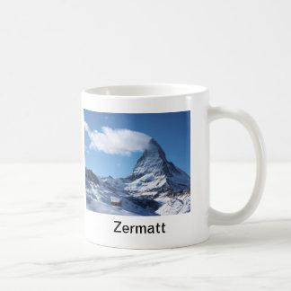 Zermatt, taza de Suiza