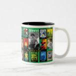Zermeno: An American in Paris Two-Tone Coffee Mug