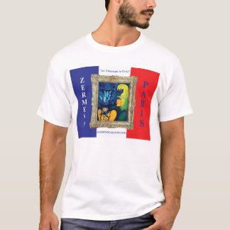 Zermeno French Flag Wearable Art T-Shirt