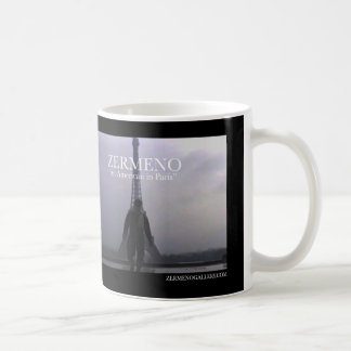 "Zermeno ""un americano en taza de café de París"""