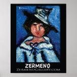 Zermeno's Little Parissiene in Hat Print