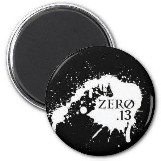 zero 13 icon refrigerator magnet