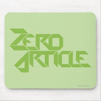 Zero Article Mouse Pad