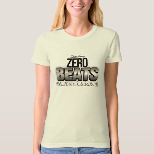 Zero Beats - T shirt short white (female)