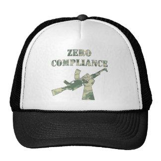 Zero Compliance AK47 Camo Trucker Hat