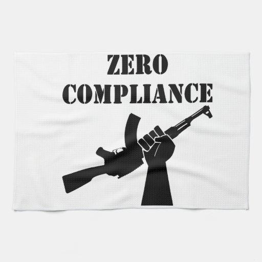 Zero Compliance AK47 Kitchen Towel