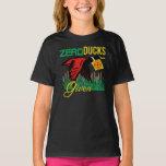 Zero Ducks Given Duck Hunter Bulls Eye T-Shirt