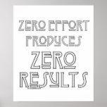 Zero Effort...2 Posters