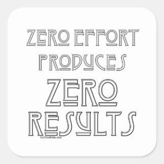 Zero Effort 2 Sticker