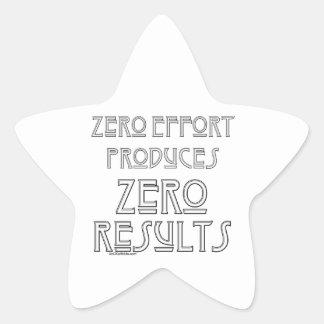 Zero Effort 2 Star Sticker