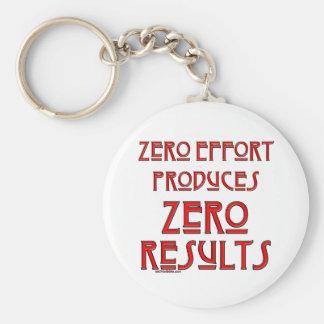 Zero Effort... Keychains