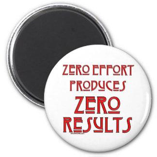 Zero Effort Refrigerator Magnets