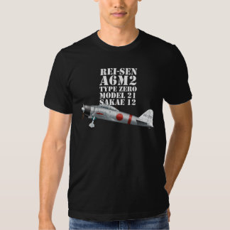 Zero Fighter A6M2 TYPE 0 MODEL 21 Tee
