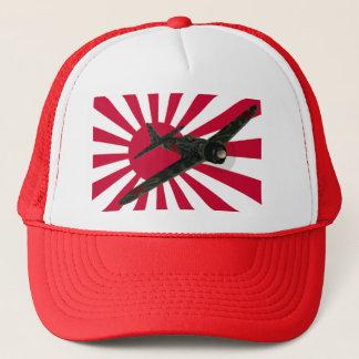 Zero Fighter Aircraft Trucker Hat