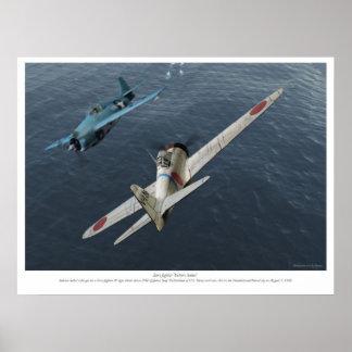"""Zero fighter"""" Saburo Sakai"""" Poster"""
