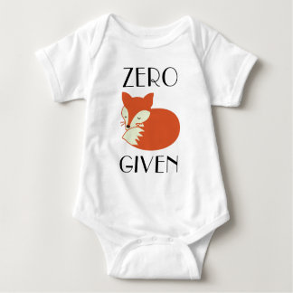 Zero Fox Given Baby Bodysuit