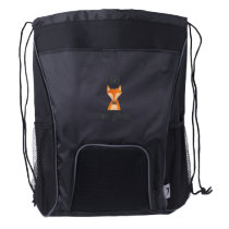 Zero Fox Given Funny Gift Drawstring Backpack