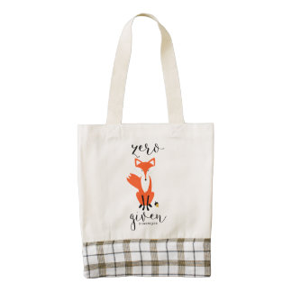 Zero Fox Given Funny Pun Personalized Bag