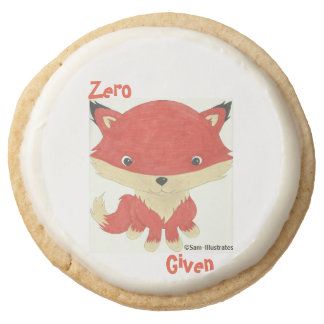 Zero Fox Given Icing Shortbread Cookies