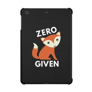 Zero Fox Given iPad Mini Case