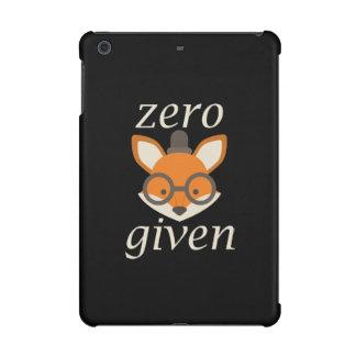 Zero Fox Given iPad Mini Cases