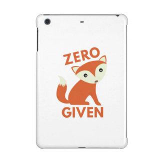 Zero Fox Given iPad Mini Cover