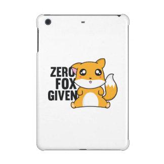 Zero Fox Given iPad Mini Covers