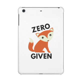Zero Fox Given iPad Mini Retina Cases