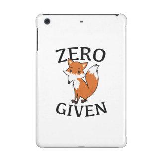 Zero Fox Given iPad Mini Retina Covers