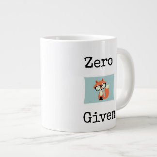 "Zero ""fox"" given large coffee mug"