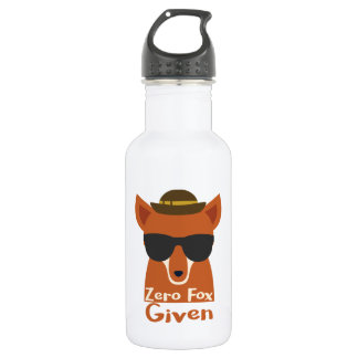 Zero Fox Given Stainless Steel Water Bottle