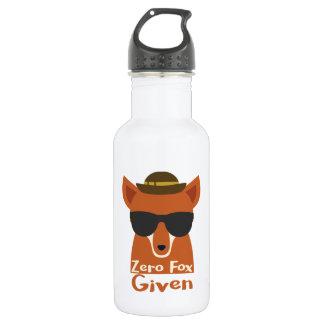 Zero Fox Given Stainless Steel Water Bottle