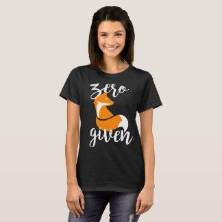 Zero Fox Given - T-Shirt (Black)