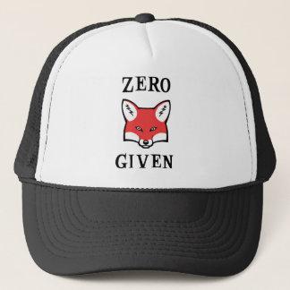 Zero (Fox) Given Trucker Hat