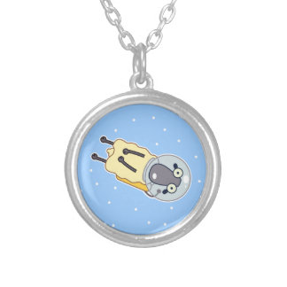 Zero Gravity Sheep Silver Plated Necklace