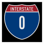 Zero Interstate Print