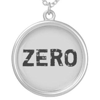 """""""Zero"""" Pendant Necklace"""