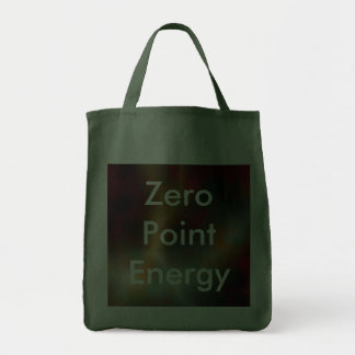 Zero Point Energy Promo Product Grocery Tote Bag