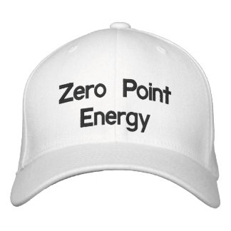 Zero Point Energy Promo Product Baseball Cap