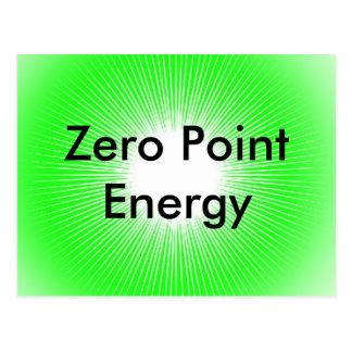 Zero Point Energy Promo Product Postcard