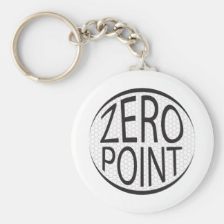 Zero Point Glaze Keychain
