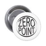 Zero Point Glaze Pinback Button