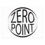 Zero Point Glaze Post Card