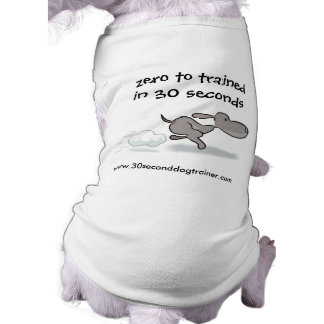 Zero to trained in 30 seconds, www.3... pet tee