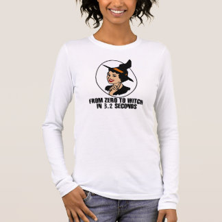 Zero to Witch 50's Style (Color) Long Sleeve T-Shirt