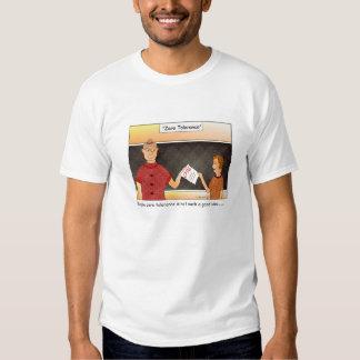 Zero Tolerance Cartoon T-shirt