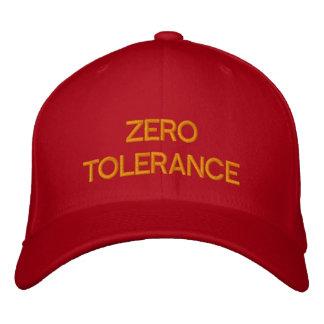 ZERO TOLERANCE - Custom Baseball Cap