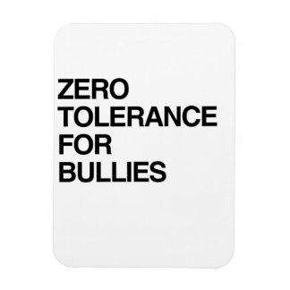 ZERO TOLERANCE FOR BULLIES FLEXIBLE MAGNETS